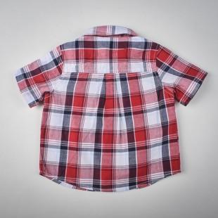 Фото: Gymboree. Рубашка в клетку (артикул O 30081-red) - изображение 4