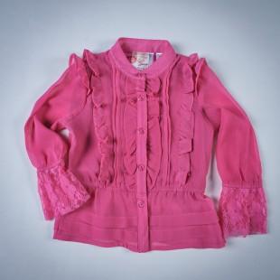 Фото: Блузка с рюшами (артикул Gs 30006-pink) - изображение 3