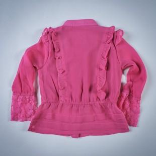 Фото: Блузка с рюшами (артикул Gs 30006-pink) - изображение 4