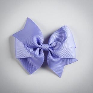Заколка-бант фиолетового цвета