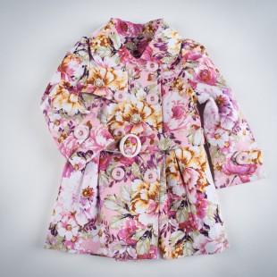 Фото: Плащ с цветочным рисунком (артикул Gp 10006-flowers) - изображение 3
