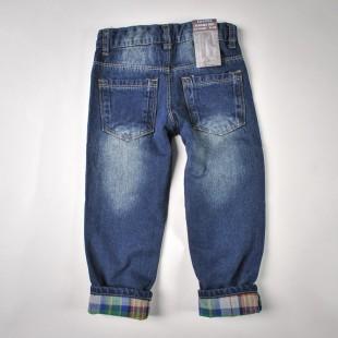 Фото: Джинсы с разноцветной подкладкой (артикул Z 60110-jeans) - изображение 4