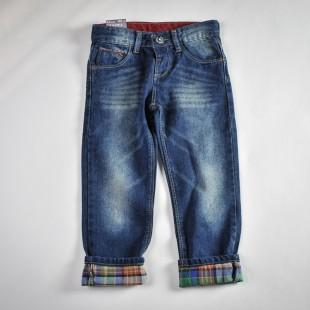 Фото: Джинсы с разноцветной подкладкой (артикул Z 60110-jeans) - изображение 3