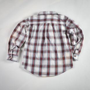 Фото: Рубашка в серую клетку (артикул O 30070-square) - изображение 4