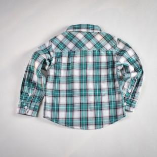 Фото: IKKS. Рубашка в клетку (артикул O 30068-square) - изображение 4
