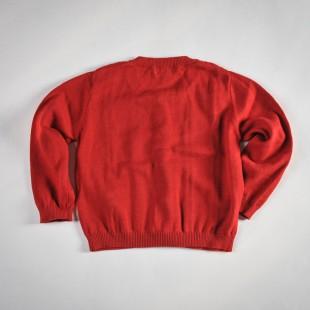 Фото: Кофта вязаная на пуговицах (артикул O 20063-red) - изображение 4