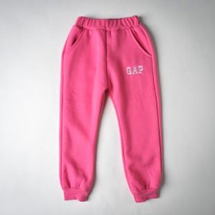 Фото: Фирменные спортивные штаны для девочки (артикул Gp 60013-pink) - изображение 3