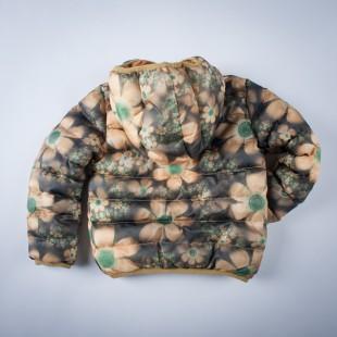 Фото: Куртка с цветочным принтом (артикул O 10131-yellow) - изображение 4