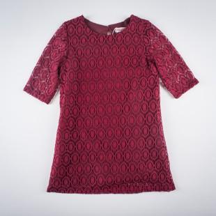 Фото: Платье кружевное. (артикул O 50193-red) - изображение 3
