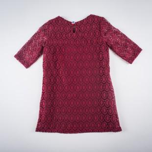 Фото: Платье кружевное. (артикул O 50193-red) - изображение 4
