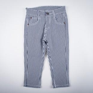 Фото: Стрейчевые полосатые штанишки (артикул Z 60143-black) - изображение 3