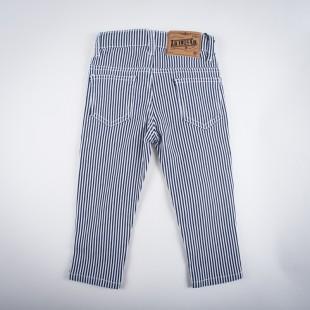 Фото: Стрейчевые полосатые штанишки (артикул Z 60143-black) - изображение 4