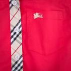 Фото: Рубашка с классическим кантом (артикул B 30021-red) - изображение 5