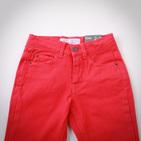 Фото: Фирменные яркие джинсы (артикул Z 60036-red) - изображение 5
