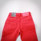 Фото: Фирменные яркие джинсы (артикул Z 60036-red) - изображение 6