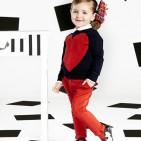 Фото: Фирменные яркие джинсы (артикул Z 60036-red) - изображение 7