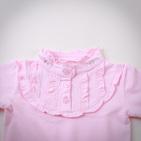 Фото: Брендовая кофточка с рюшами (артикул O 30039-light pink) - изображение 5