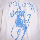 Фото: Футболка с принтом Большого Пони (артикул RL 40011-white) - изображение 5