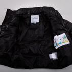 Фото: Куртка дутая черного цвета (артикул O 10045-black) - изображение 5