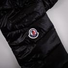 Фото: Куртка дутая черного цвета (артикул O 10045-black) - изображение 6