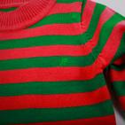 Фото: Свитер в яркую полоску детский (артикул O 20034-orange) - изображение 5