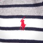 Фото: Свитер в полоску на пуговицах (артикул RL 20010-red) - изображение 6