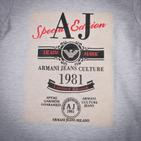 Фото: Серая футболка с большим логотипом (артикул O 40050-grey) - изображение 5