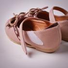 Фото: Туфли с тонким бантиком (артикул Sh 10023-pink) - изображение 6