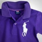 Фото: Футболка Big Polo (артикул RL 40001-purple) - изображение 5