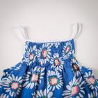 Фото: Платье с рисунками цветов (артикул O 50127-blue) - изображение 5