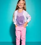 Фото: Зауженные брюки лилового цвета (артикул Gp 60009-purple) - изображение 6