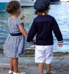 Фото: Шорты детские белого цвета (артикул Rl 60010-white) - изображение 6