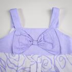 Фото: Платье с бантом на груди (артикул Gs 50023-violet) - изображение 5