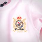 Фото: Кофточка с гербом (артикул RL 30005-light pink) - изображение 5