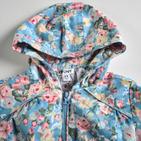 Фото: Куртка с цветочным рисунком (артикул O 10053-blue) - изображение 5