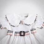 Фото: Платье с круглым воротником (артикул B 50017-white) - изображение 5