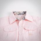 Фото: Рубашка с коротким рукавом  (артикул B 30011-apricot) - изображение 5