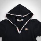 """Фото: Платье с капюшоном и карманом """"кенгуру"""" (артикул B 50012-black) - изображение 6"""