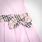 Фото: Платье с классическим кантом и бантом (артикул B 50007-light pink) - изображение 6