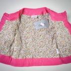 Фото: Укороченная кожаная куртка девочке (артикул O 10072-pink) - изображение 8