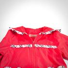 Фото: Куртка с карманами в форме сердец (артикул B 10010-red) - изображение 6