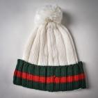 Фото: Набор шапка и шарф молочного цвета (артикул A 20057-white) - изображение 6