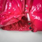 Фото: Moncler. Костюм пуховой с опушкой (артикул O 70018-pink) - изображение 10