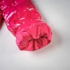 Фото: Moncler. Костюм пуховой с опушкой (артикул O 70018-pink) - изображение 13
