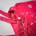 Фото: Moncler. Костюм пуховой с опушкой (артикул O 70018-pink) - изображение 14