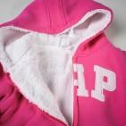 Фото: Брендовый утеплённый костюм для девочки (артикул Gp 70006-pink) - изображение 6