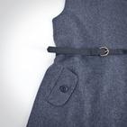 Фото: Платье драповое со складой (артикул Z 50010-grey) - изображение 5