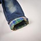 Фото: Джинсы с разноцветной подкладкой (артикул Z 60110-jeans) - изображение 5