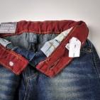 Фото: Джинсы с разноцветной подкладкой (артикул Z 60110-jeans) - изображение 7