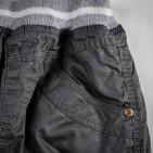 Фото: Серые штанишки утепленные мехом (артикул Z 60035-grey) - изображение 5